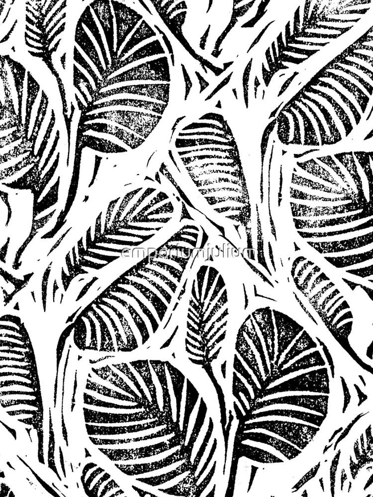 Jungle - Tropical leaves by emporiumjulium