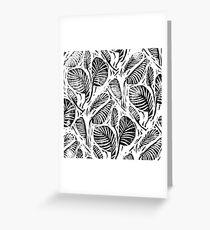 Jungle - Tropical leaves Greeting Card