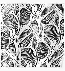 Jungle - Tropical leaves Poster