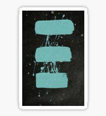 Simple Gifts - 0013 - Three Sticker