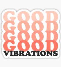 Good Vibrations Sticker