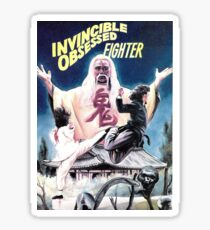 Invincible Obsessed Fighter Sticker