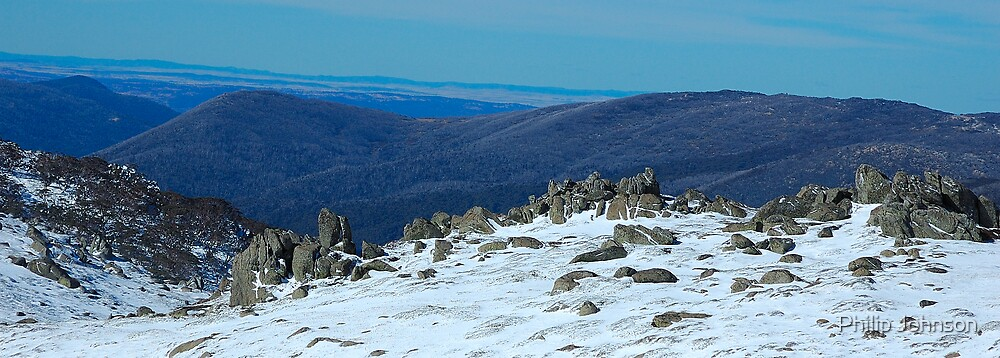 Made It Ma .... Top of the world  ! - Snowy Mountains, NSW Australia by Philip Johnson
