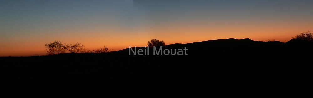 fortisque river night panarama by Neil Mouat
