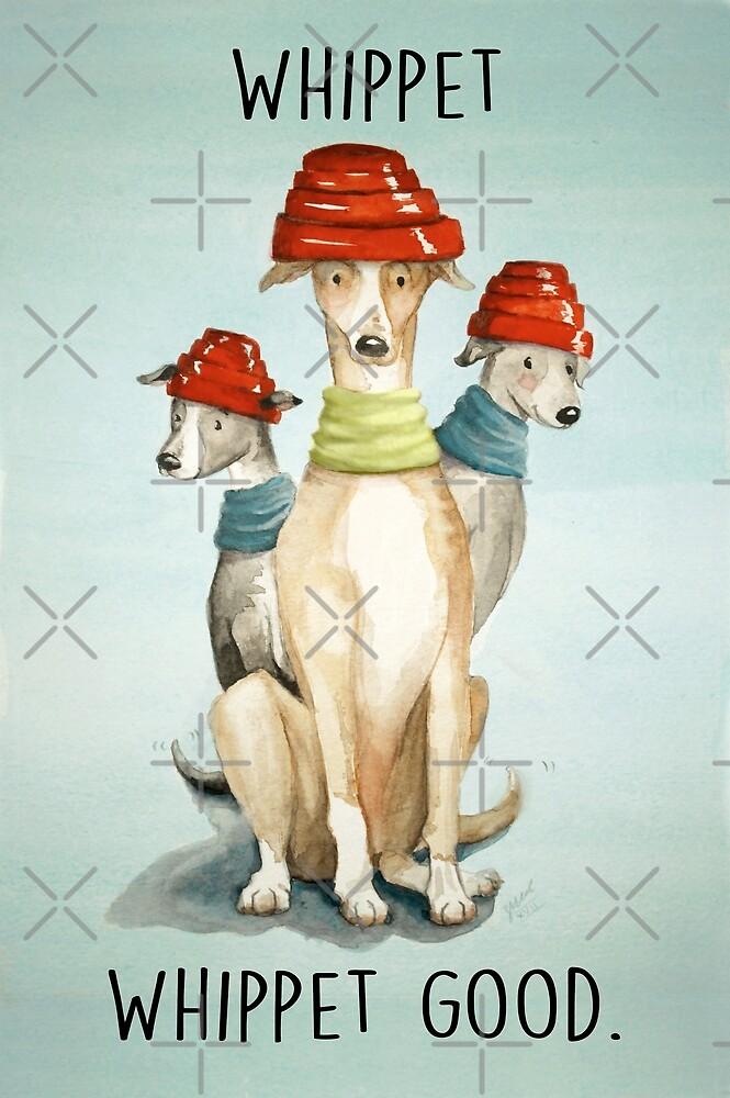 Devo Dogs by Sarah  Mac Illustration