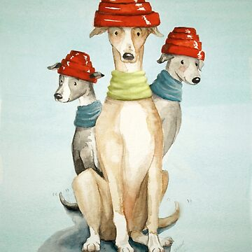 Devo Dogs by Artsez