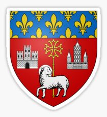 Coat of Arms of Toulouse, France Sticker