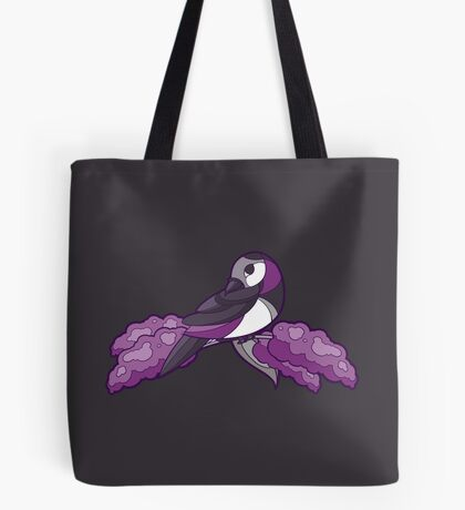 Pride Birds - Asexual, Demisexual, Grey-Asexual Tote Bag