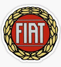 FIAT classic logo Sticker