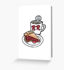 RR Diner Greeting Card