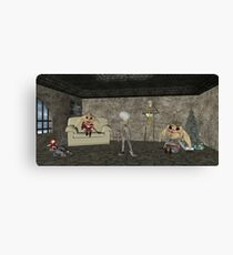 Never a dull moment Canvas Print
