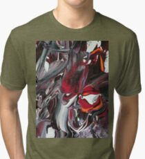 The demon Beast Tri-blend T-Shirt