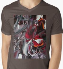 The demon Beast Men's V-Neck T-Shirt
