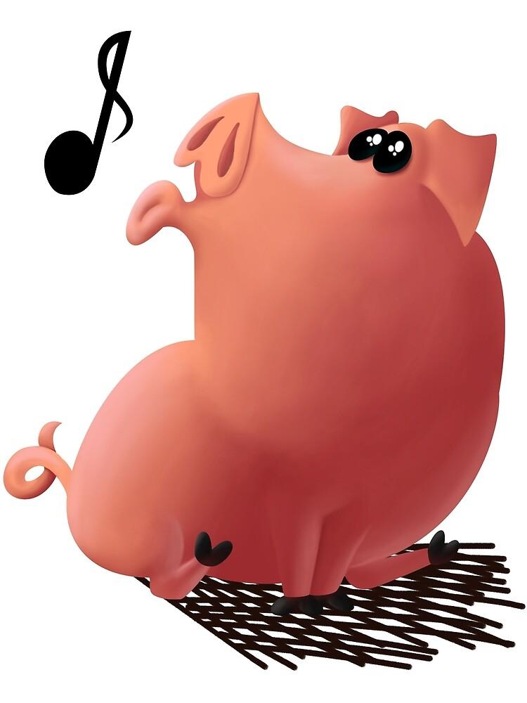 Whistling Pig by NikKru