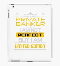 PRIVATE BANKER iPad Case/Skin