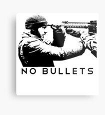 No Bullets Metal Print