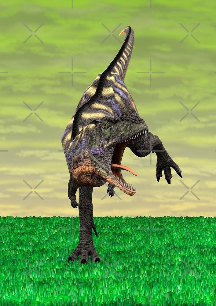 Dinosaur Aucasaurus by Vac1