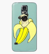 Bananen Mops Hülle & Klebefolie für Samsung Galaxy