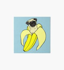 Bananen Mops Galeriedruck