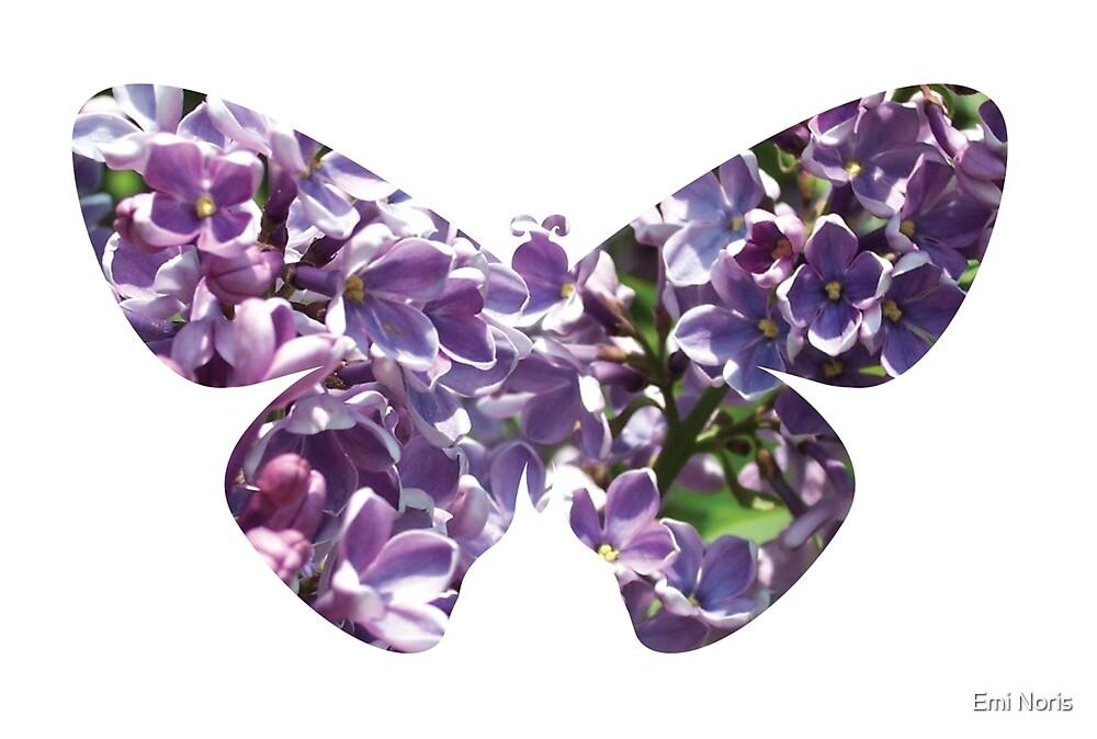 Flying lilac tree by Emi Noris