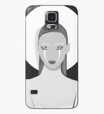 Black and white Fashion Case/Skin for Samsung Galaxy