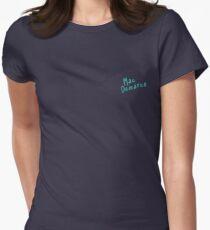 Mac Demarco Drawn Font Womens Fitted T-Shirt