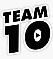 Team 10 Sticker