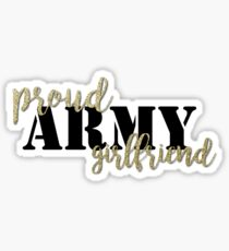 Proud Army Girlfriend Sticker