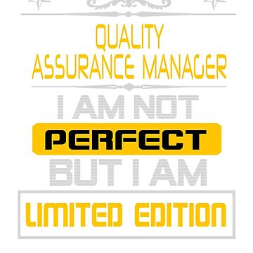 QUALITY ASSURANCE MANAGER by sidneythin