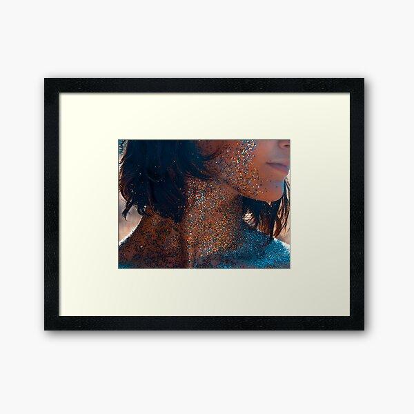 Glitter and Gold No.2 Framed Art Print