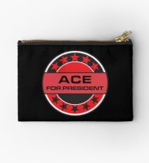 ACE FOR PRESIDENT Studio Pouch