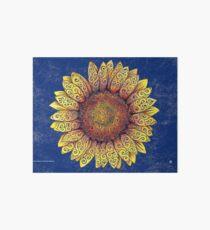 Swirly Sunflower Art Board