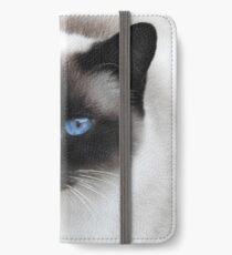 Choupette iPhone Flip-Case/Hülle/Klebefolie