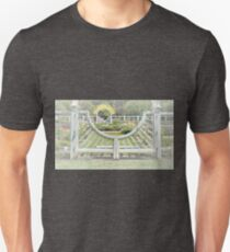 Sun Shining Over the Beautiful Rose Garden T-Shirt