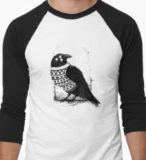 Foresight of a cold winter Men's Baseball ¾ T-Shirt