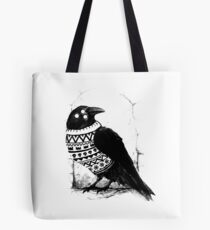 Foresight of a cold winter Tote Bag