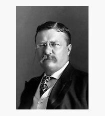 Teddy Roosevelt Portrait - 1904 Photographic Print