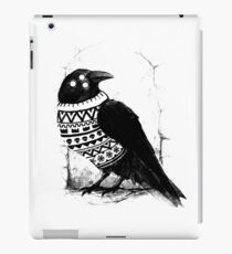Foresight of a cold winter iPad Case/Skin