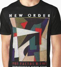 New order Factus 8 design Joy Division  Graphic T-Shirt