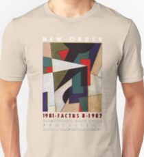 New order Factus 8 design Joy Division  Unisex T-Shirt