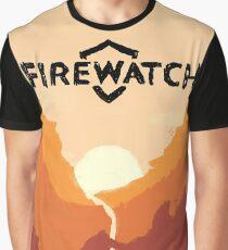 Firewatch horizion with logo Graphic T-Shirt