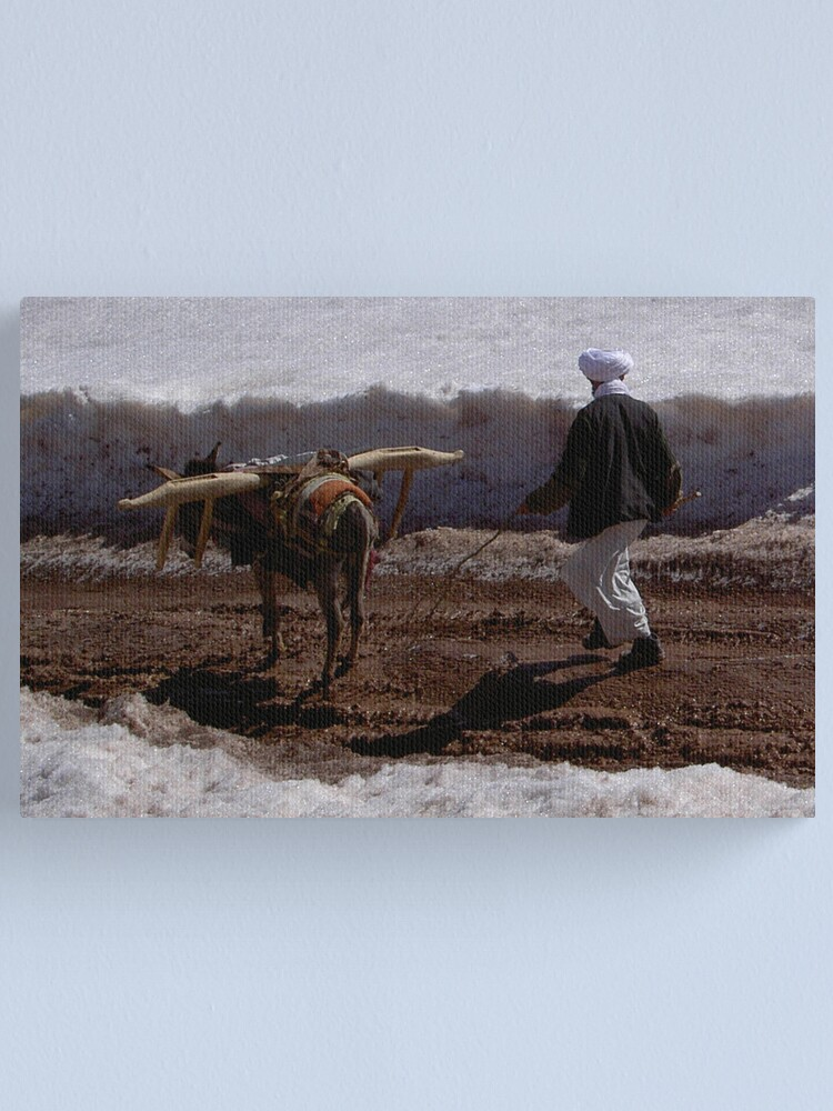 Alternate view of Afghanistan life Canvas Print
