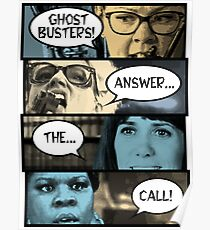 Ghostbusters Answer The Call Poster