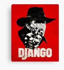 Django - Franco Nero Canvas Print