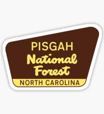PISGAH NATIONAL FOREST NORTH CAROLINA HIKING CLIMBING CAMPING EXPLORE NATURE 2 Sticker