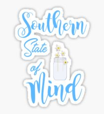 Southern Mind Sticker