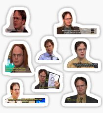 Dwight Everywhere Sticker