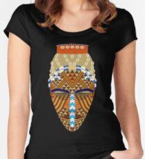 Máscara africana Women's Fitted Scoop T-Shirt