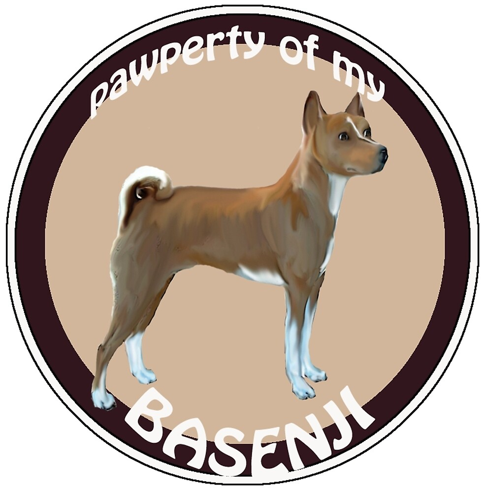 Property of my Basenji by IowaArtist