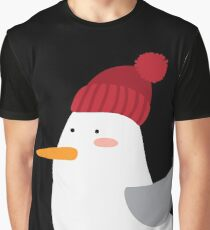 Knit Hat Pelican Graphic T-Shirt